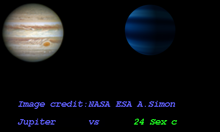 Outer planet sex